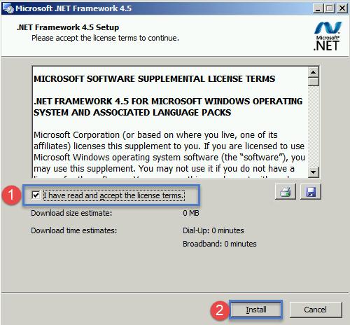Installing Exchange 2013 on Server 2008 R2 in existing 2010