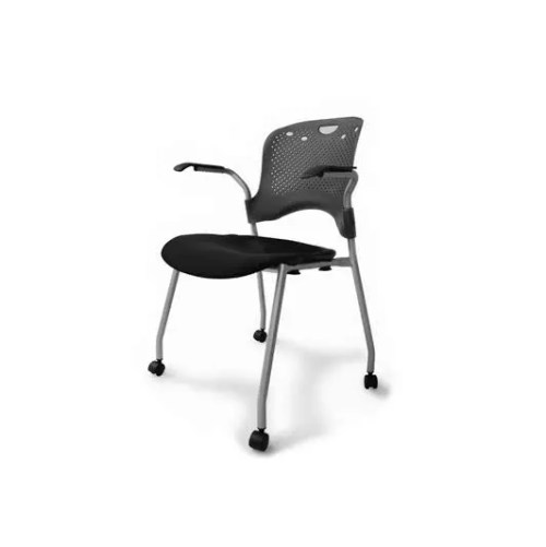 stacking castor chair