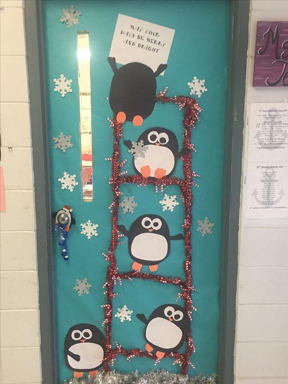 20 Beautiful Classroom Christmas Door Decoration Ideas