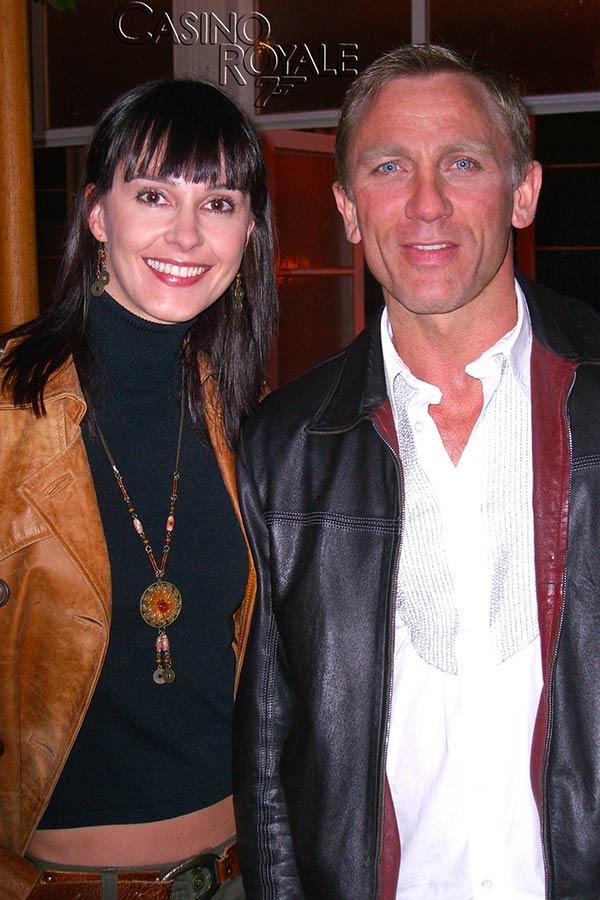 Regina a Daniel Craig