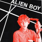 Alien Boy zine cover
