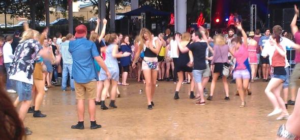 Laneway Festival, Brisbane 2012