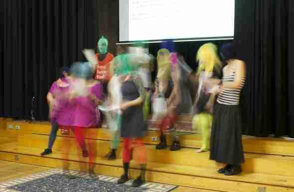 Pussy Riot Brisbane by Haydn Hall