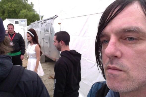 Anton Newcombe gawping at Lana Del Rey
