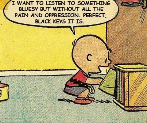 Charlie Brown black keys