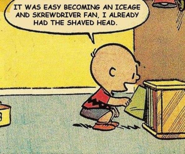 Charlie Brown iceage