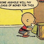 Charlie Brown record collector