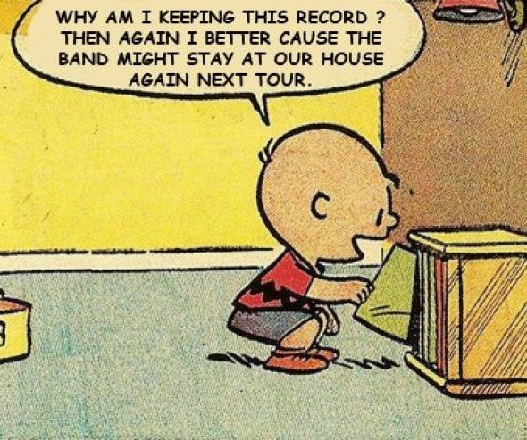 Charlie Brown touring bands