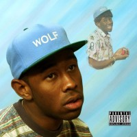 A review of 'Wolf' by Tyler, The Creator based only on the front cover