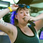 Sylvan Esso @ Laneway 2018, RNA Showgrounds, Brisbane, Saturday 10 February 2018