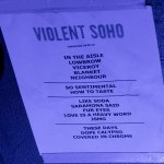 Violent Soho @ The Riverstage, Saturday 29 September 2018