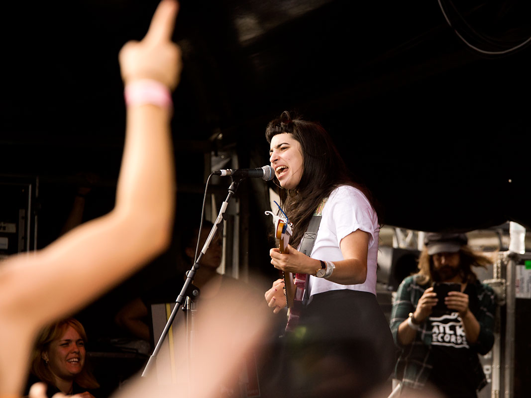 Camp Cope @ Laneway Festival, RNA Showgrounds, Saturday 2 February 2019