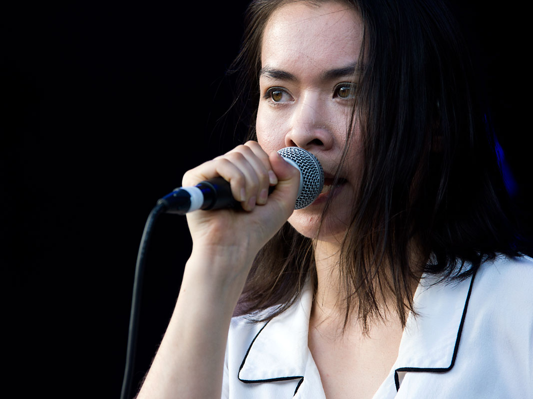Mitski @ Laneway Festival, RNA Showgrounds, Brisbane, Saturday 2 February 2019