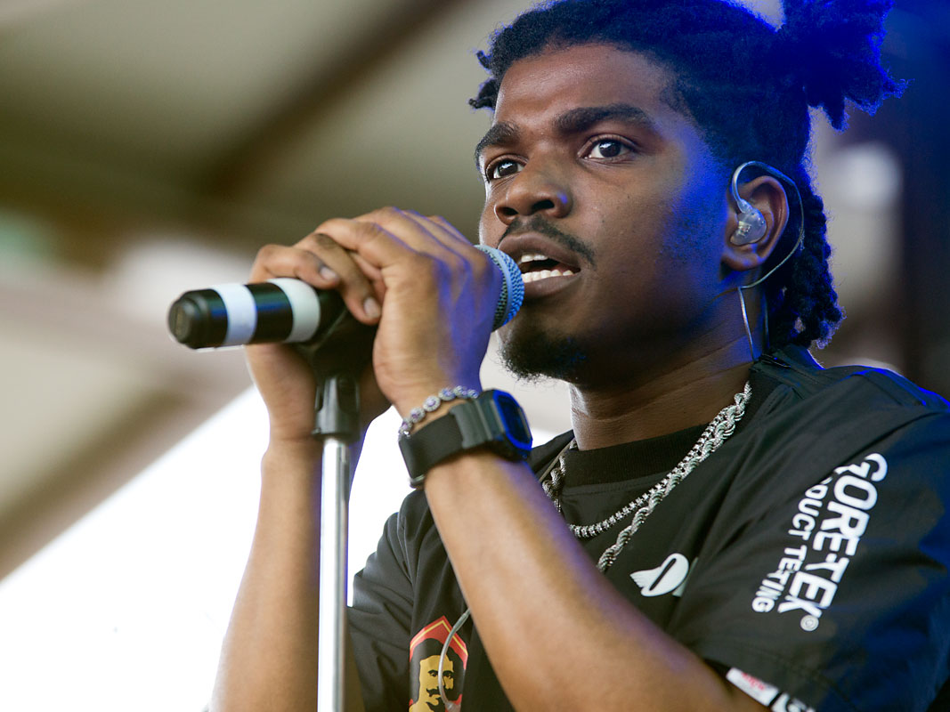 Smino @ Laneway Festival, RNA Showgrounds, Brisbane, Saturday 2 February 2019