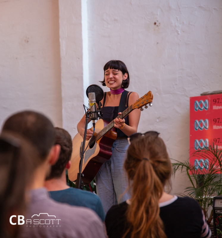 Stella Donnelly @ Farmer & The Owl, MacCabe Park, Wollongong, Saturday 2 March 2019
