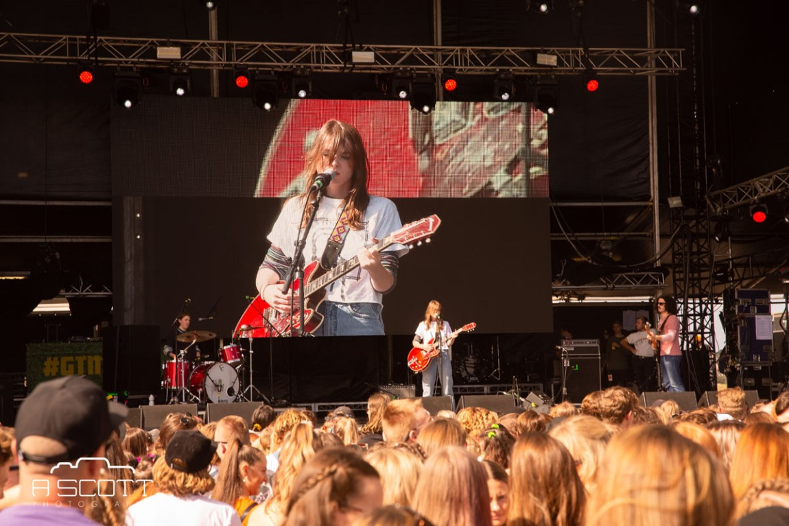 Angie McMahon @ Groovin The Moo, Maitland Showgrounds, Saturday 27 April 2019