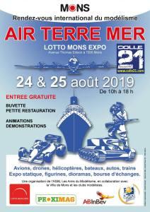 Expo AIR TERRE MER à Mons