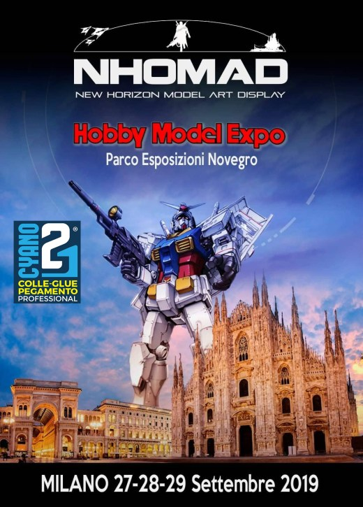 HOBBY MODEL EXPO 2019. Novegro