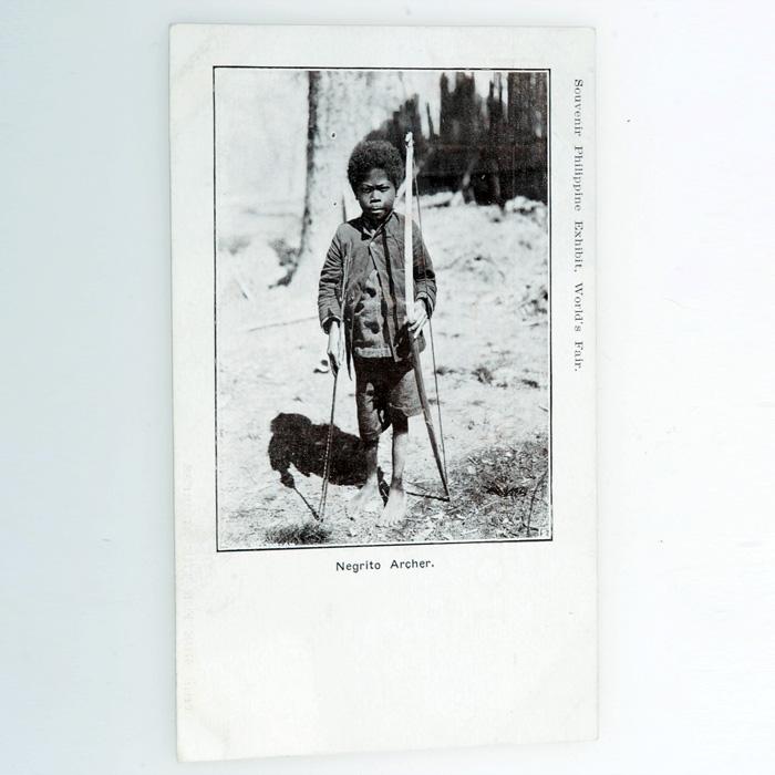 Sold Negrito Archer Postcard 1904 World S Fair
