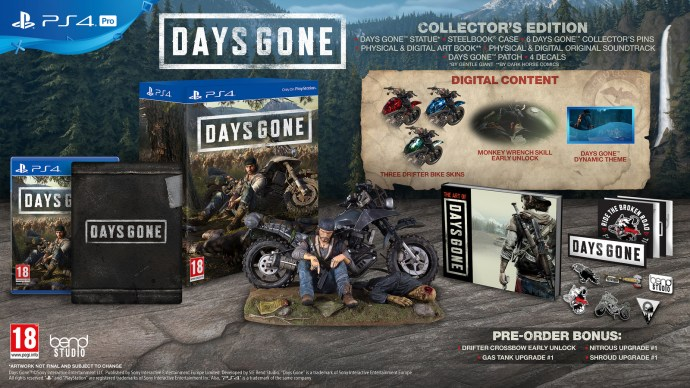 Days Gone Collector's Edition PS4