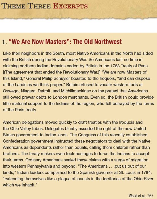 We Are Now Masters - excerpt from The New Nation