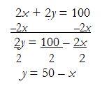 mathmemo.goldrush.2x+2y=100