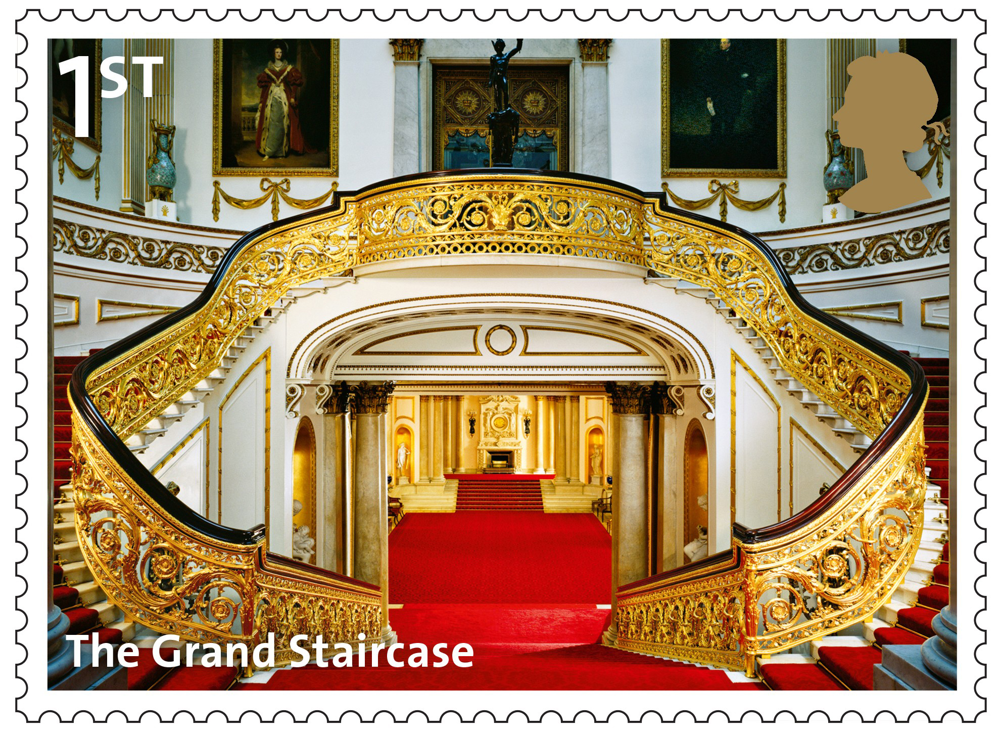Buckingham Palace 2014 Collect GB Stamps