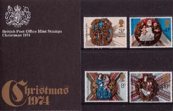 Christmas 1974 Collect GB Stamps