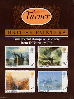 Birth Bicentenary Of JMW Turner Painter 1975