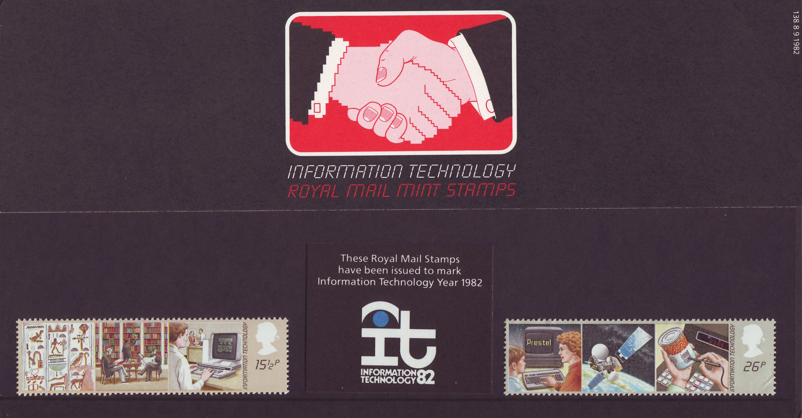 Information Technology 1982 Collect GB Stamps