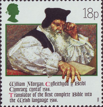 The Welsh Bible 1588 1988 1988 Collect GB Stamps