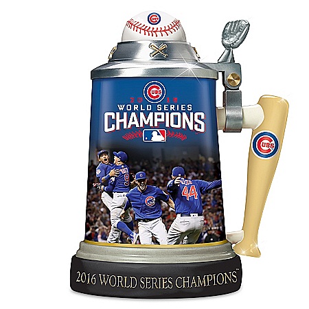 Chicago Cubs 2016 World Series Commemorative Stein