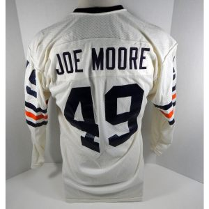 1971-73 Chicago Bears Joe Moore _Number_49 Game Used White Jersey