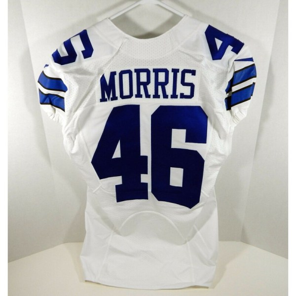 2016 Dallas Cowboys Alfred Morris _Number_46 Game Issued White Jersey DAL00035