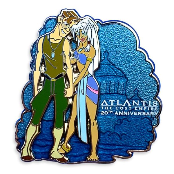 Atlantis: The Lost Empire Pin 20th Anniversary Limited Release Official shopDisney