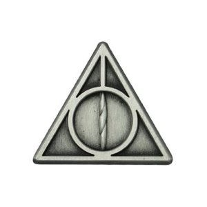 Harry Potter Deathly Hallows Pewter Lapel Pin