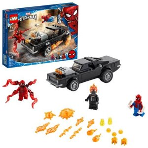 LEGO 76173 Marvel Super Heroes Spider-Man and Ghost Rider vs. Carnage