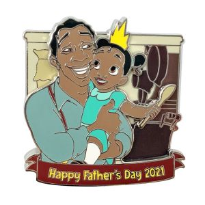 The Princess and the Frog Father's Day 2021 Pin Limited Release Official shopDisney