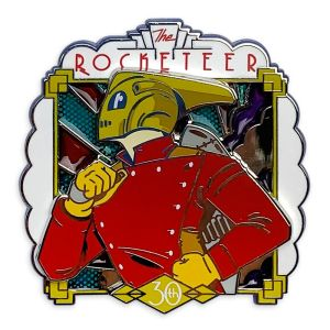The Rocketeer Pin 30th Anniversary Limited Release Official shopDisney