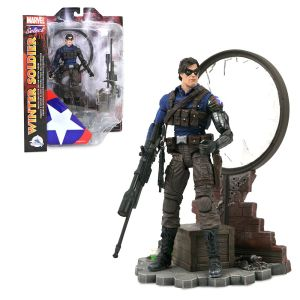 Winter Soldier Collector Edition Action Figure Marvel Select by Diamond 7 1/4'' Official shopDisney