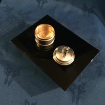 Georgian silver pot