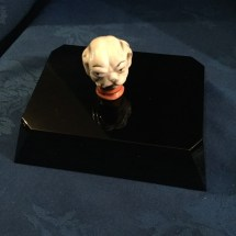 Ceramic Bulldog head