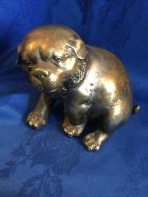 Japanese bronze bulldog
