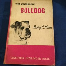Hardback. The complete bulldog