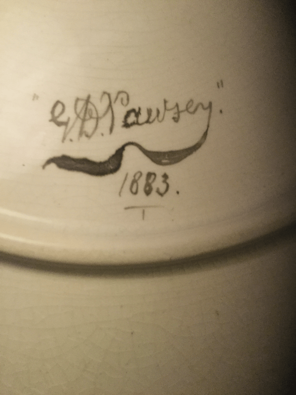 Date and artists name