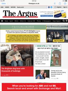 Thank you Brighton Argus