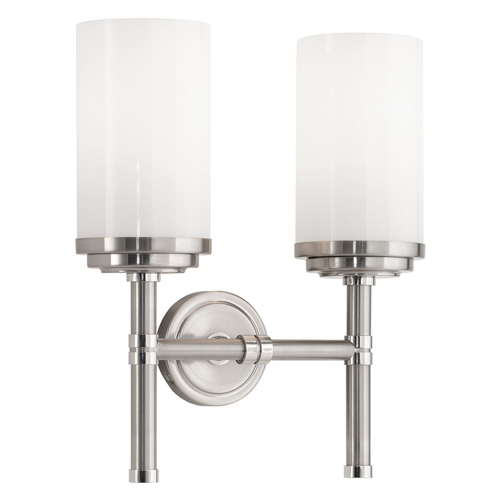 Halo Double Wall Sconce | Robert Abbey | Collectic Home on Contemporary Wall Sconces Lighting id=15160