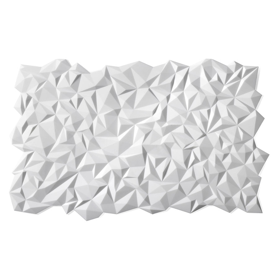 Finell Join Facet White Rectangular Placemat Collectic Home