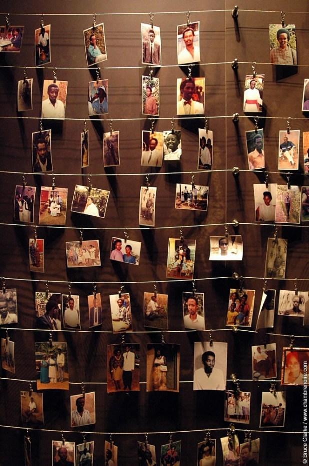 Photos des victimes à Gisozi