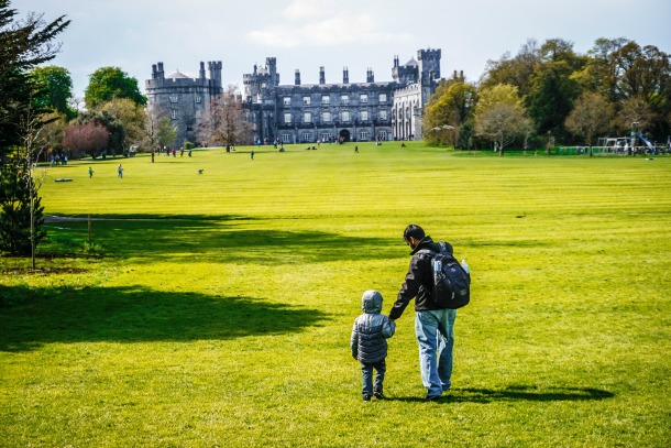 Collecting Adventures at Kilkenny Castle Park